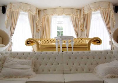 upholstered-golden-sofa