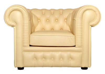 upholstered-leather-armchair