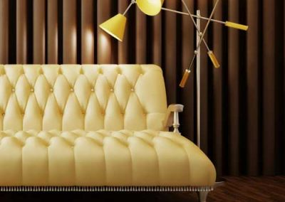 upholstered-silk-couch